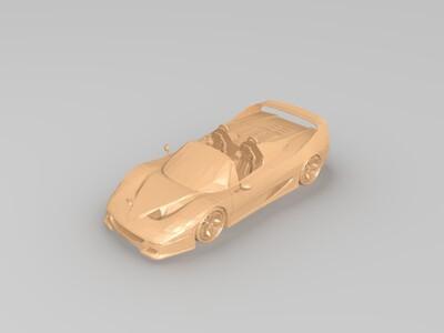 法拉利F50-3d打印模型