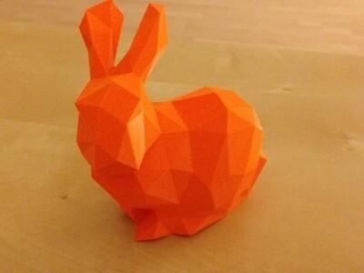 小兔子-3d打印模型
