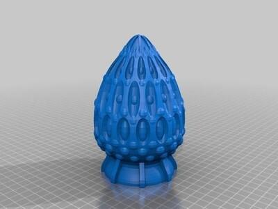 鸡蛋基地-3d打印模型
