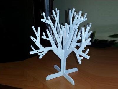 可打印的珠宝树