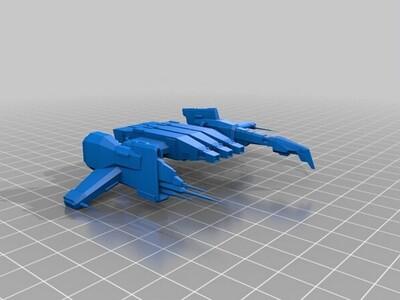 星战前夜护卫舰-3d打印模型