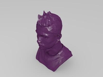C罗(克里斯蒂亚诺 罗纳尔多)-3d打印模型