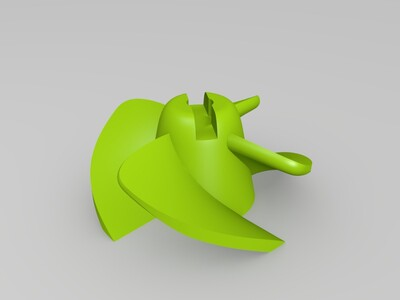 船模高效螺旋桨(适合打印)-3d打印模型