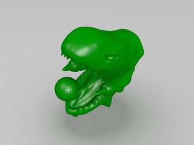 青眼白龙-3d打印模型