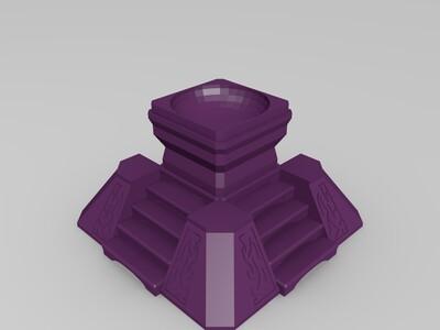 黑暗之心-3d打印模型