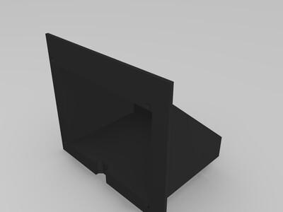桌面插座-3d打印模型