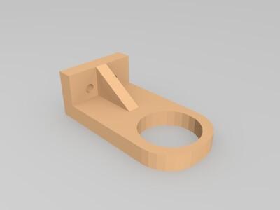 18mm接近开关支架-3d打印模型