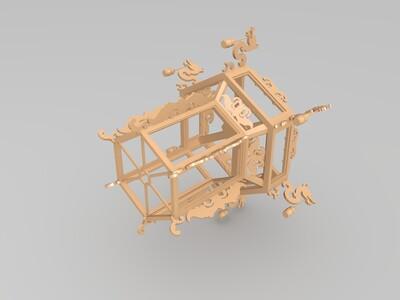 六角宫灯-3d打印模型