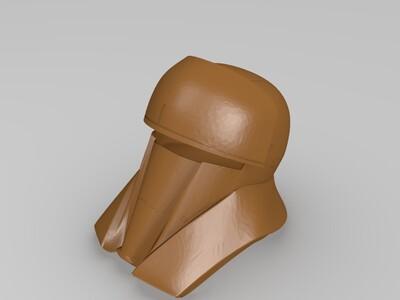 星球大战迷你头盔-3d打印模型
