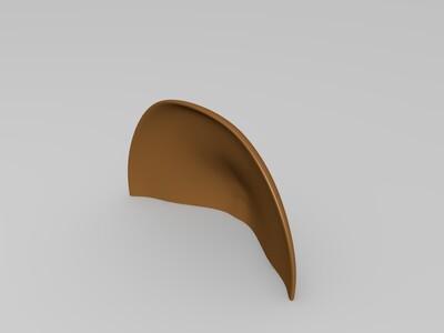火影忍者木叶暗部面具-3d打印模型