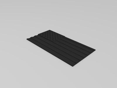 美国国旗(星条旗)-3d打印模型