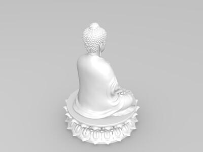 佛像——普光佛-3d打印模型