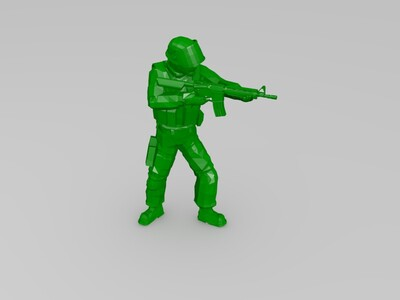 csgo 人物雕像-3d打印模型