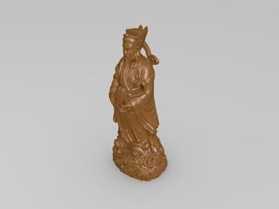 如意财神-3d打印模型
