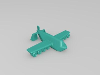 小飞机-3d打印模型
