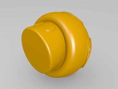 浮雕蘑菇灯-3d打印模型