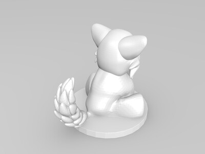 狼宝宝-3d打印模型