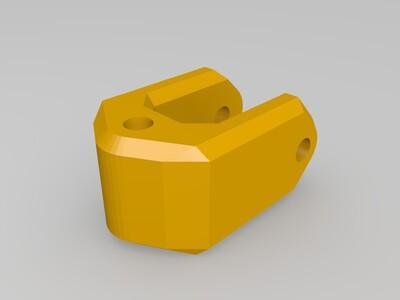 【原创】针管挖掘机操控系统-3d打印模型