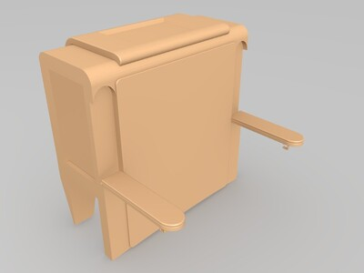 座椅-3d打印模型