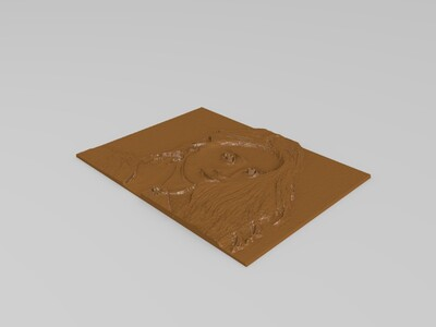 依迪姆3d浮光雕刻-3d打印模型