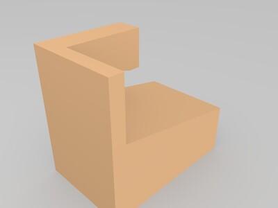超简单手机支架-3d打印模型