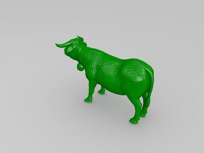精品奶牛-3d打印模型