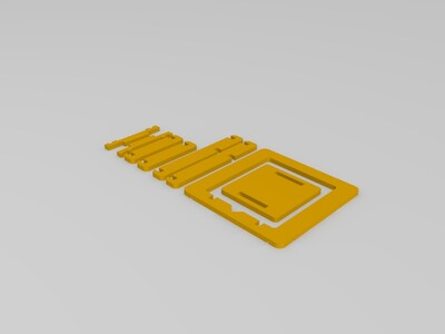 迷你3D打印机-3d打印模型