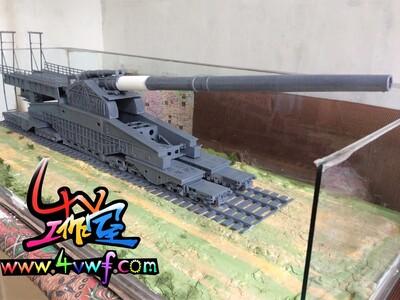 古斯塔夫巨炮-3d打印模型