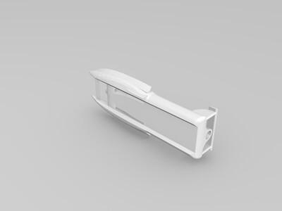 竞速双体船-3d打印模型