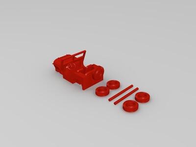 牧马人-3d打印模型