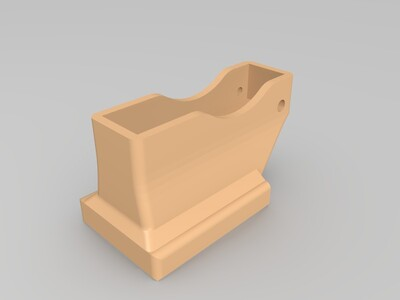 【原创】I3 MEGA 打印机风扇罩-3d打印模型