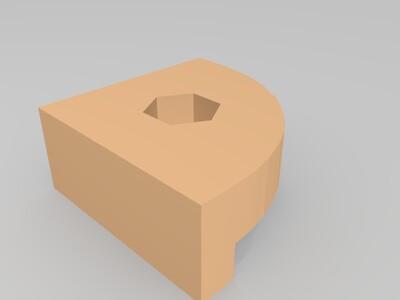 3d打印机调平角件-3d打印模型