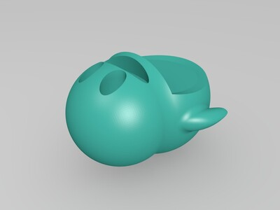 QQ企鹅-3d打印模型