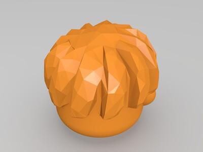 西瓜頭-3d打印模型