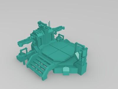 Planetary Annihilation 横扫千星 机器工厂-3d打印模型