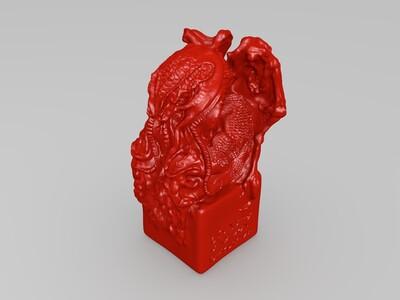 邪神克苏鲁-3d打印模型