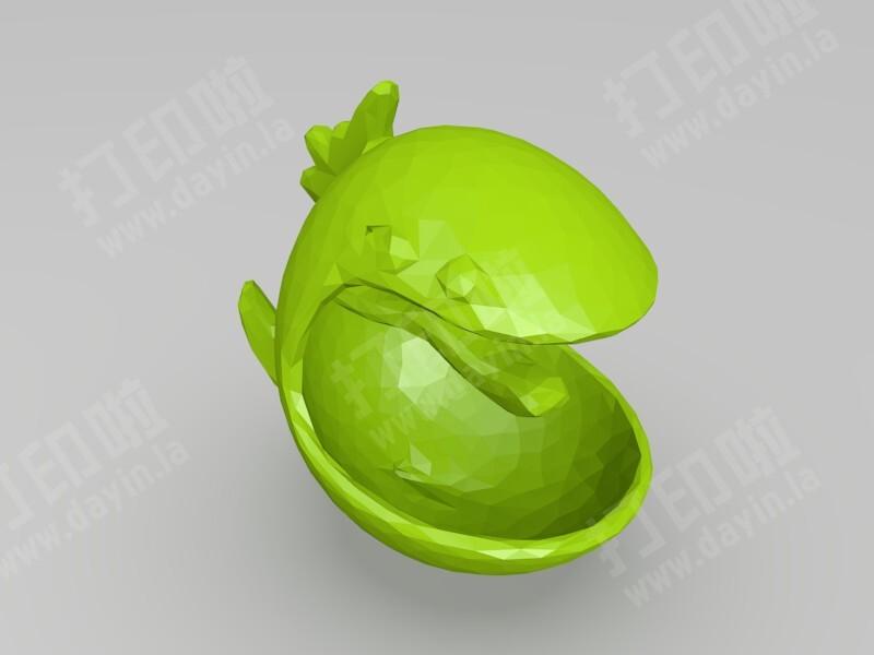 哇! 是魚-3d打印模型
