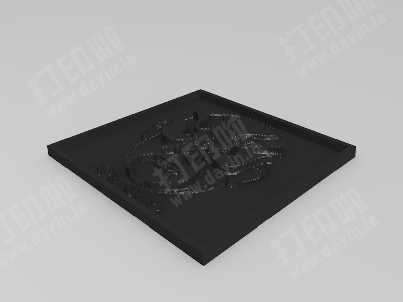 京剧脸谱-3d打印模型