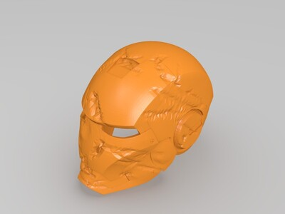 钢铁侠战损版-3d打印模型