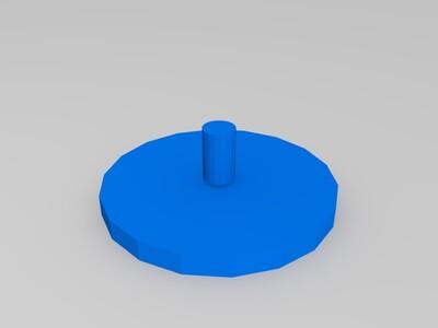 小指尖陀螺适合小孩小手-3d打印模型