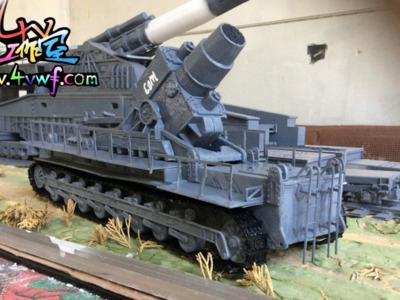 """""""卡尔""""重型臼炮-3d打印模型"""