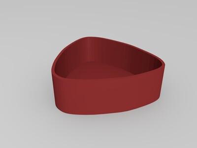 梅花系列--梅花盒子-3d打印模型