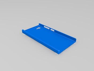 联想ZUK Z2手机壳-3d打印模型