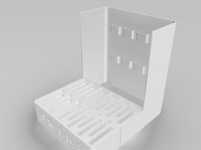 SD卡座-3d打印模型