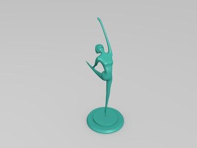芭蕾舞演员-3d打印模型