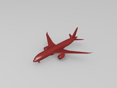 波音787客机-3d打印模型