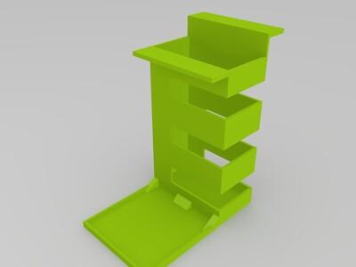 悬挂笔筒-3d打印模型