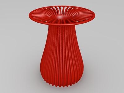 波浪灯-3d打印模型