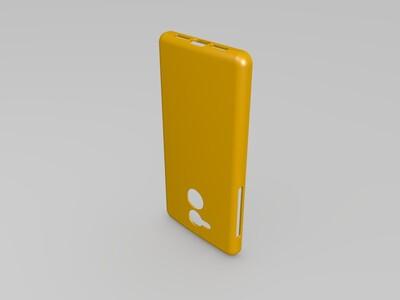 华为荣耀6c手机外壳-3d打印模型