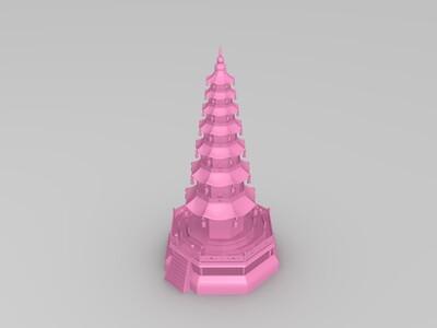 玲珑塔-3d打印模型